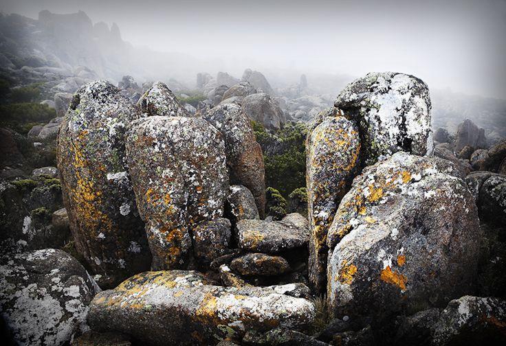Fine art landscape photo.  Mount Wellington, Hobart, Tasmania.