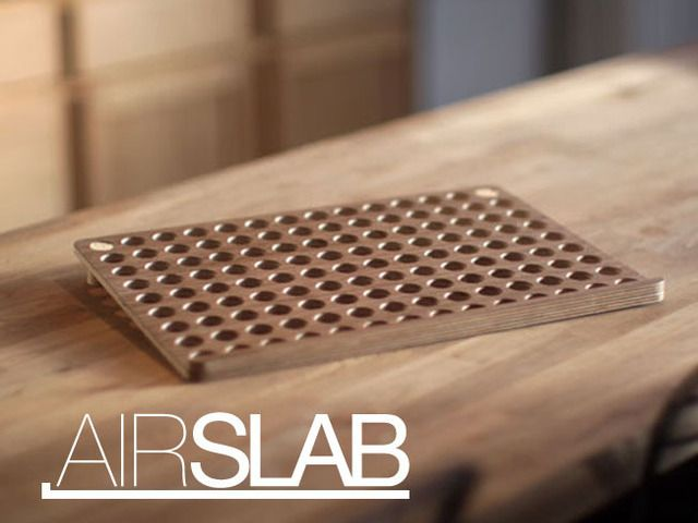 AirSlab - Laptop Cooling Stand & Pad by Steve Dubbeldam