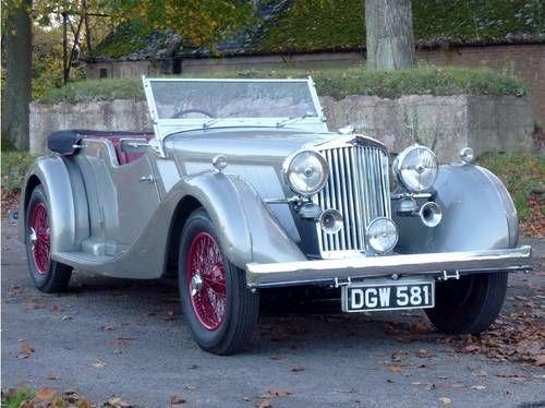 1936 Talbot 110 Speed Tourer