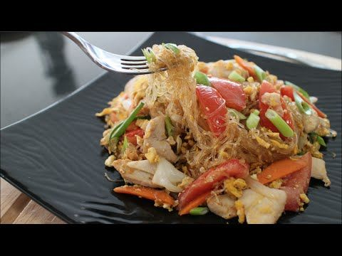 344 best exotic thai food recipes images on pinterest asian glass noodle stir fry recipe pad woon sen hot thai forumfinder Image collections
