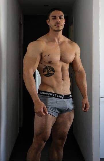 Muscular Women Sexy Nude Gif