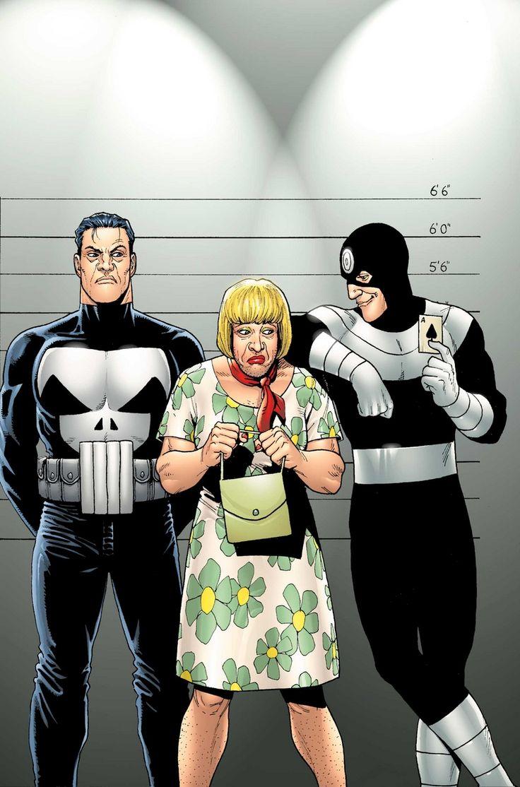 Punisher vs Bullseye by Steve Dillon