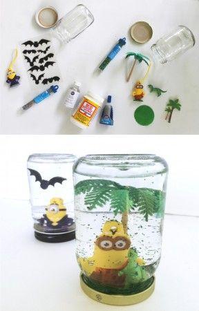 Bola decorativa DIY con Minions
