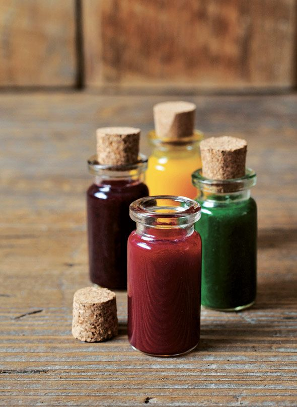 Natural Food Coloring Recipe