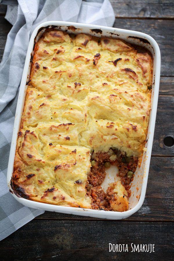 Shepherd's pie - Zapiekanka pasterka - przepis
