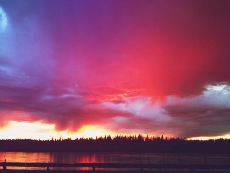 #sunset #canada #iphone