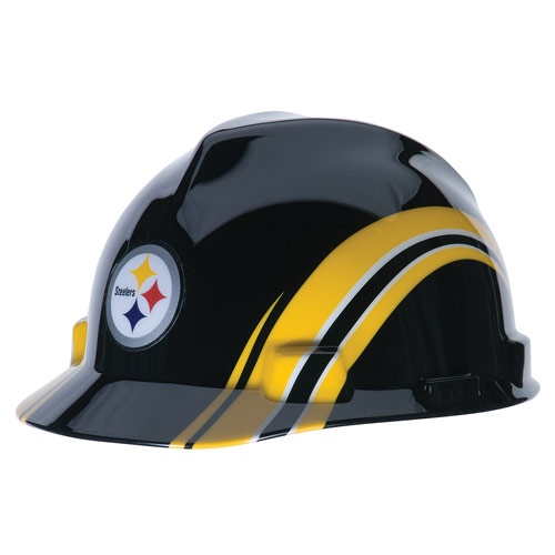 a67c49ffc Pittsburgh Steelers V-Gard Hard Hat