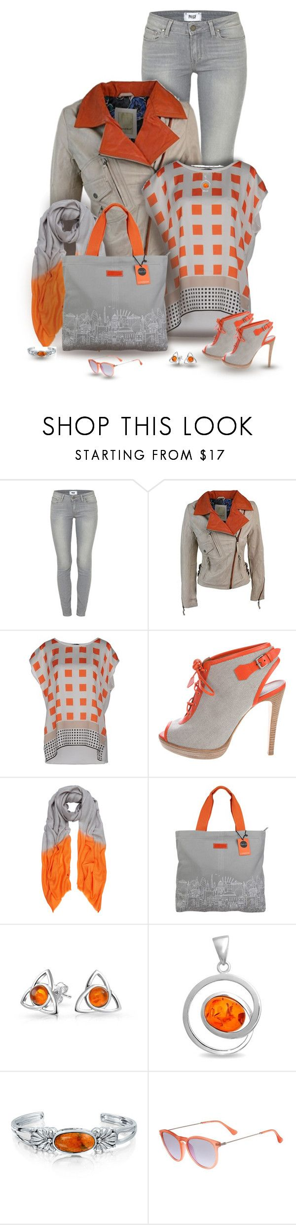 """""""set"""" by vesper1977 ❤ liked on Polyvore featuring Paige Denim, Blue Les Copains, Hermès, Allegra London and Bling Jewelry"""