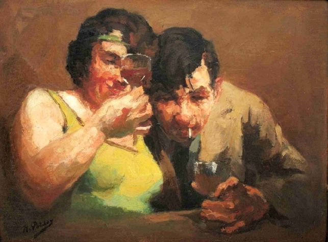 Image result for drunken couple paintings