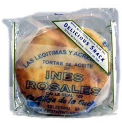 Inés Rosales Tortas de Aceite..    Nothing compares to these! I made them and ate them all in two days!