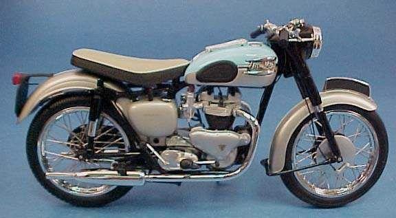 Bonneville 650 T120, 1959-1960