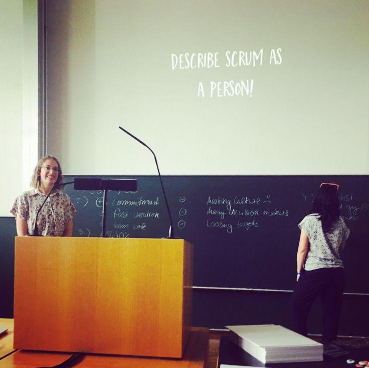 #uxce17, Scrum as a person, Pattern Libraries u.v.m: UX Designer Vera ueber ihr erstes UX Camp Europe sowie Slides zum Download