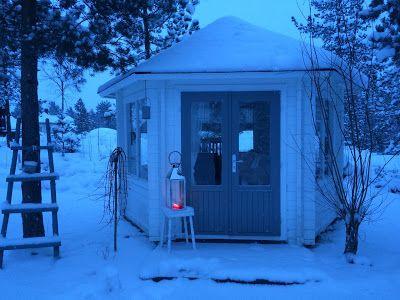 Landliv med sjel og sjarm: Winter Wonderland i hagen