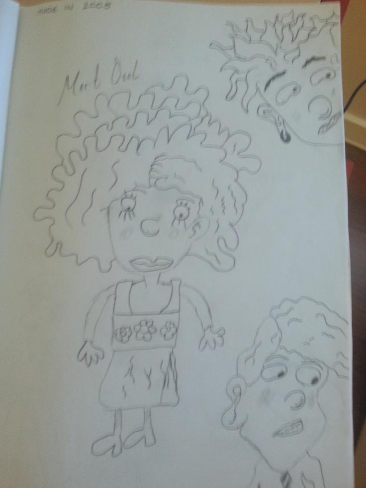 Nickelodeon Cartoon Characters Draw By Mert Özel  was made in 2008.. :)
