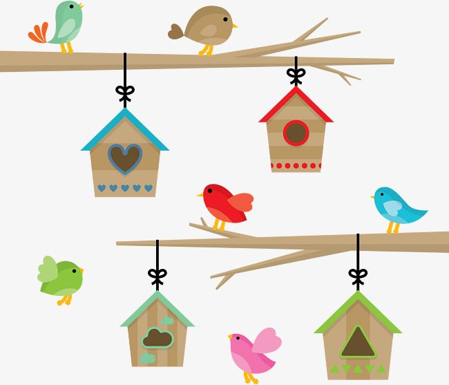 The Bird S Home Home Vector Home Branches Png And Vector With Transparent Background For Free Download House Clipart Bird Clipart House Vector