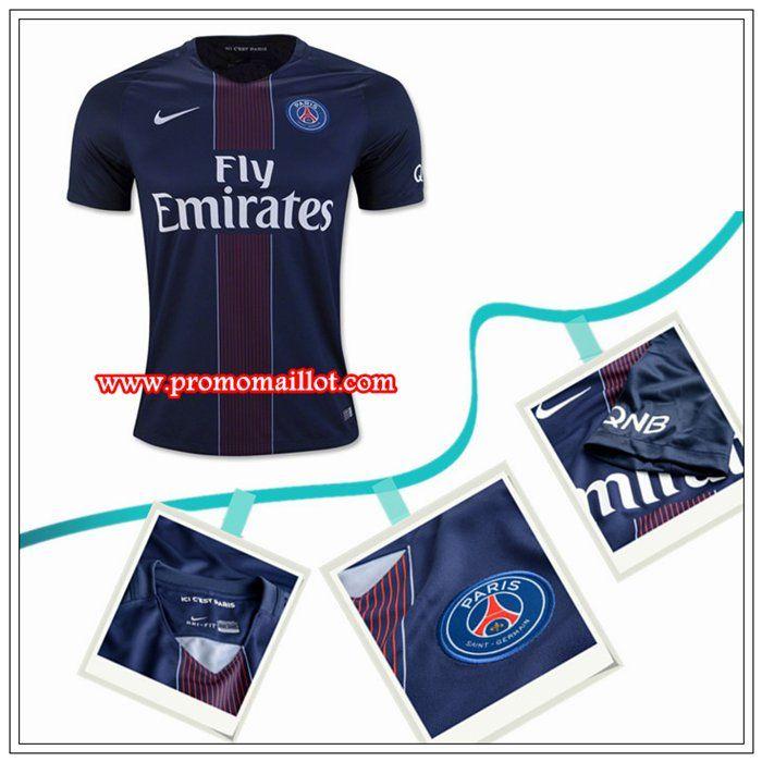 Collectionneur Maillot PSG Domicile Bleu Nike 201617 Personnalisable