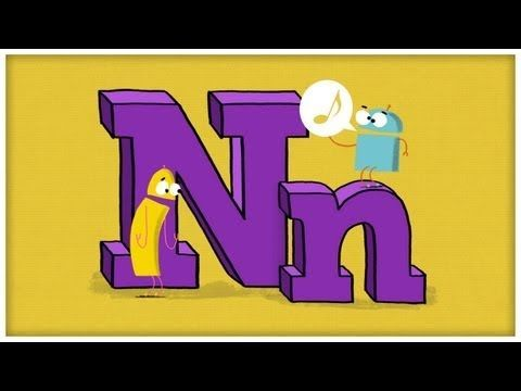 """""""You Need an N"""" by StoryBots - A collection of alphabet videos! Can't wait to show them to my students."""