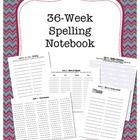 This is a printable journal for students to practice their spelling words. Comes with sheets for 12 different teacher-favorite spelling activities ...