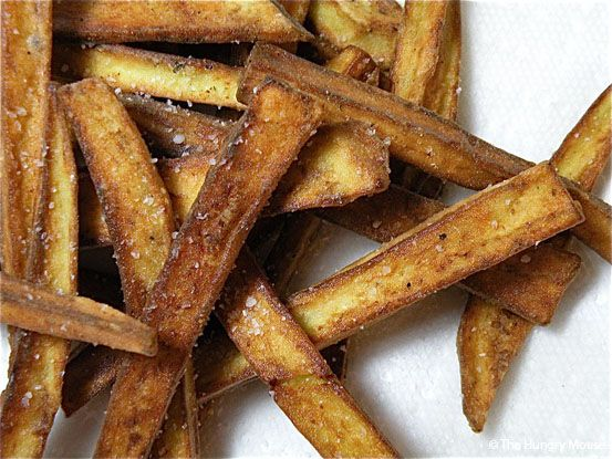 The are the best eggplant fries EVER. Add Emeril's Bayou Blast after frying for the most delish kick!