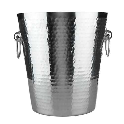 Admiral™ Hammered Ice Bucket  #ice #champagne #wine