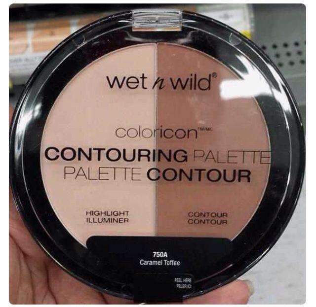 Contouring palette