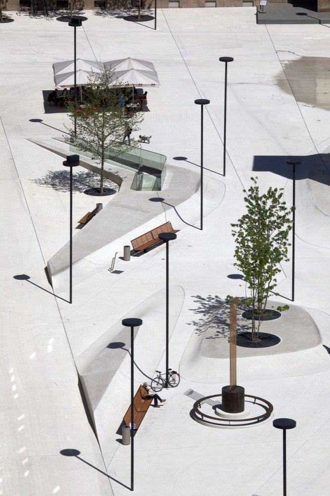 New Design for Eduard-Wallnöfer-Platz Public Square / LAAC Architekten + Stiefel Kramer Architecture