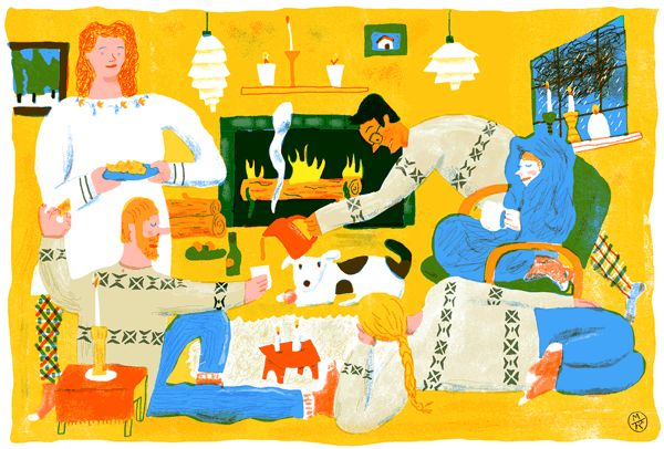 Move Over, Marie Kondo: Make Room for the Hygge Hordes - NYTimes.com