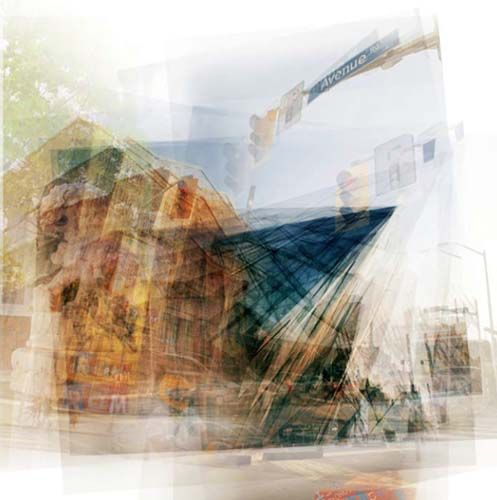 "Chris Albert, ROM #1, photography on panel wtih resin, 33""x33"", edition of 5. $1200"