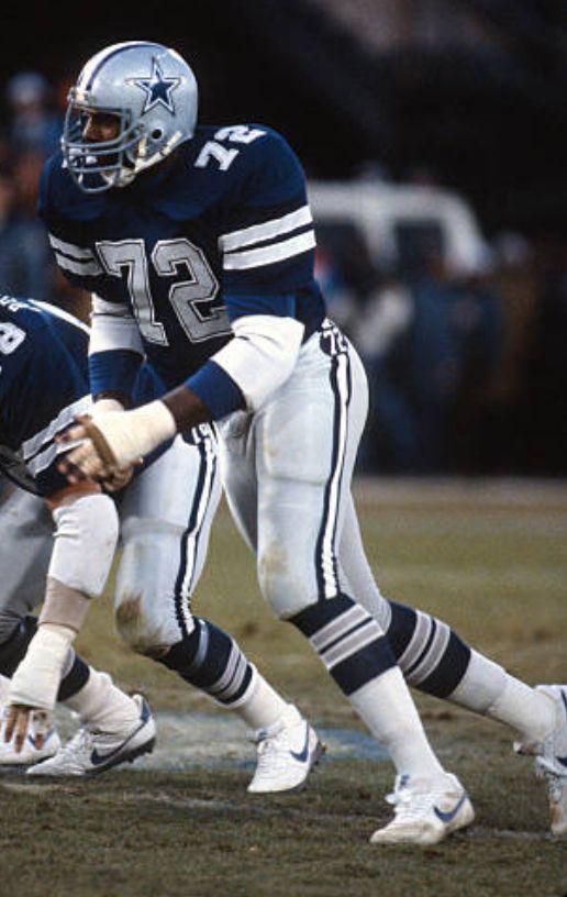 "25e0b5fb Ed ""Too Tall"" Jones | Dallas cowboys | Cowboys football, Nfl ..."