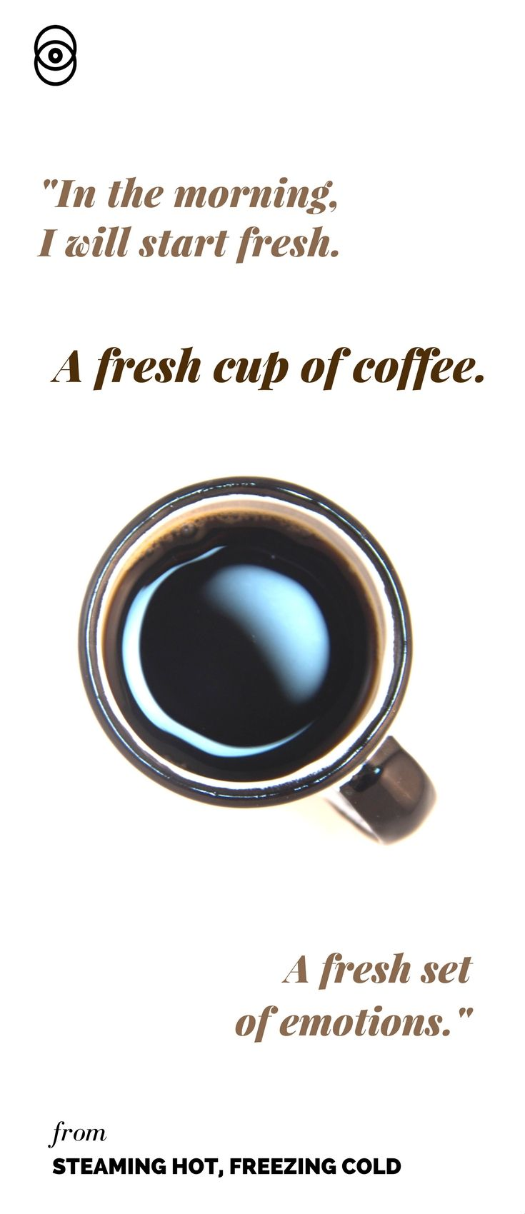 'Steaming Hot, Freezing Cold', a story about coffee, mental illness, and coping. Available now on Popularium.com