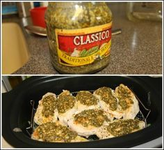 Roasted Pesto Chicken & Rice for the Ninja 3 in 1 Cooking System.