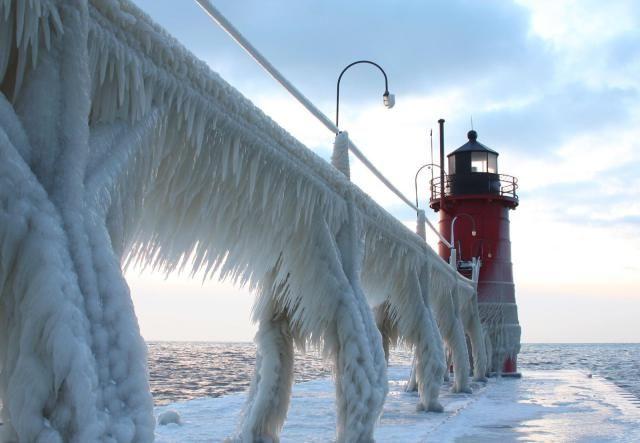 L'image du jour : Le Phare d'Haven dans le Michigan