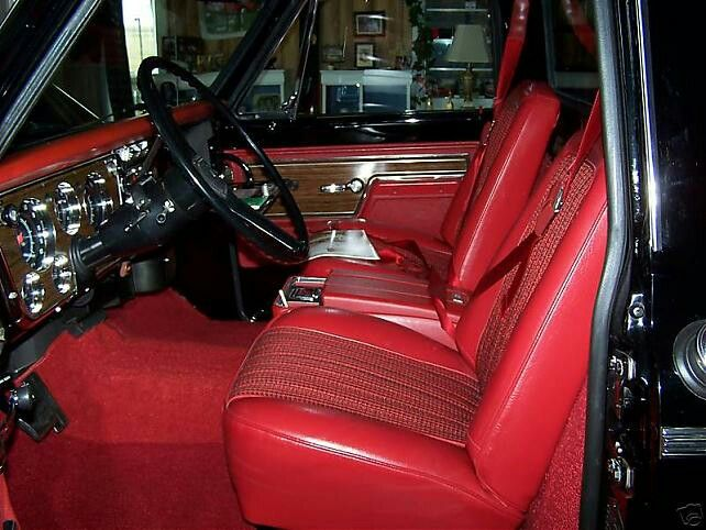 17 best images about chevy c10 interior on pinterest for C10 interior ideas
