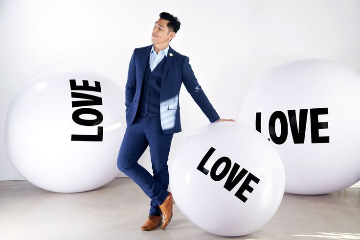 Love is at the heart of everything David Cruz does. He believes, as Big Love Ball does, that we all have the right to legally share our lives with    the person we love regardless of their gender. | Photo by Melissa Coulier  television persoanlity