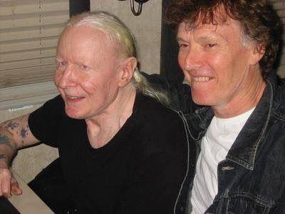 Johnny Winter and Steve Winwood