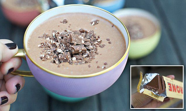 This Toblerone Mousse only takes three ingredients | Daily Mail Online