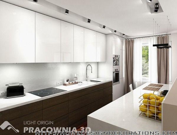 Small White Kitchen Apartment 81 best modern white kitchen images on pinterest | modern white