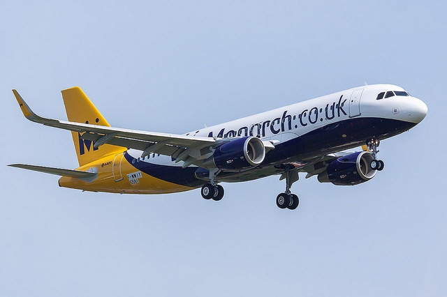 A320 Sharklet Monarch Airlines by Jujug LFBO, via Flickr
