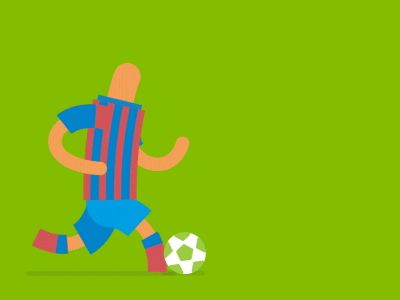 Dribbble - Soccer Cycle by Fraser Davidson