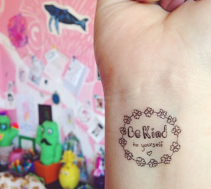 These Temporary Tats Offer People Little Reminders During Their Darkest Moments