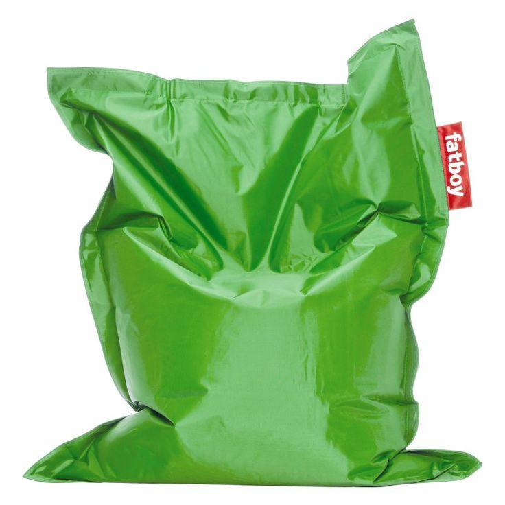 Fatboy, 4-Foot  Junior Large Bean Bag Chair Grass Green - JUN-GSGRN