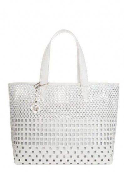 borse bianche primavera estate 2014 DKNY
