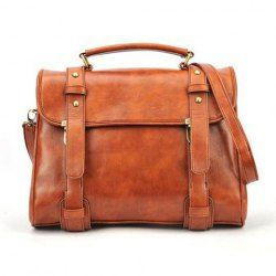 $10.34 Fashion and Laconic Solid Color Covered Bag For Women