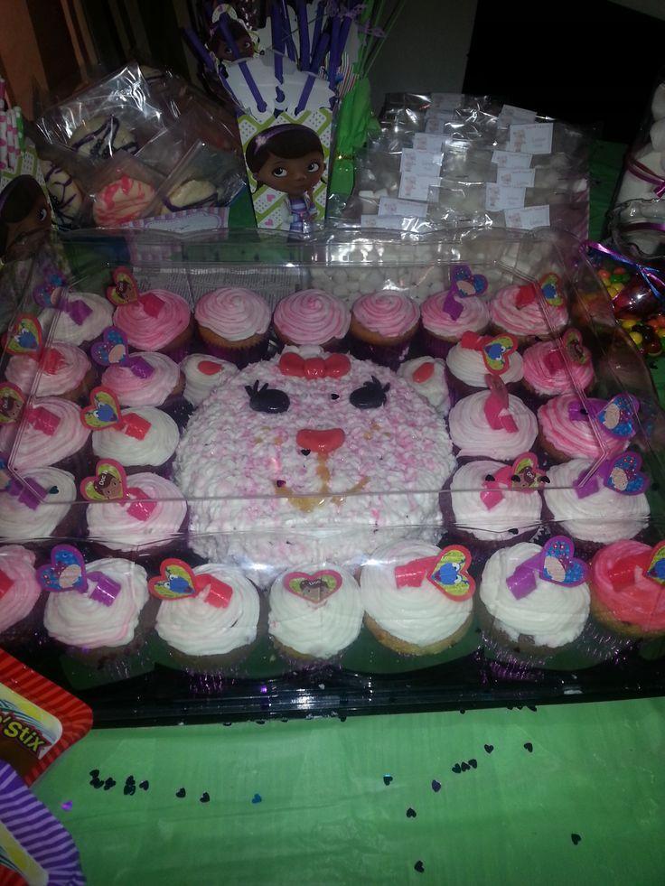 Doc Mcstuffins Cupcakes Cake Ideas And Designs