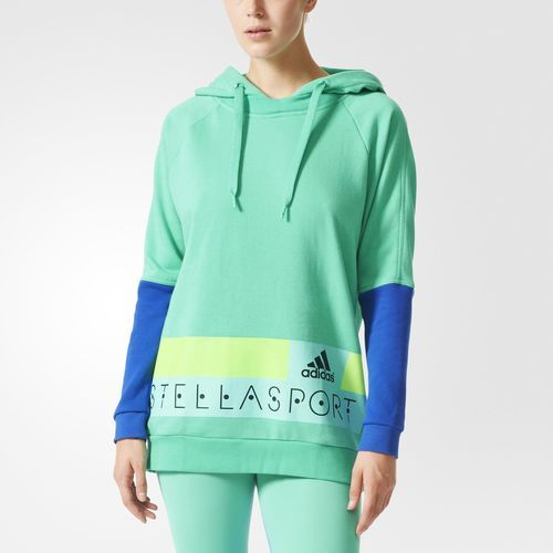 Saco con capucha adidas STELLASPORT Long - Verde
