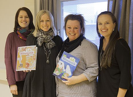 NNAB Fyra entusiastiska lärare skriver matteböcker