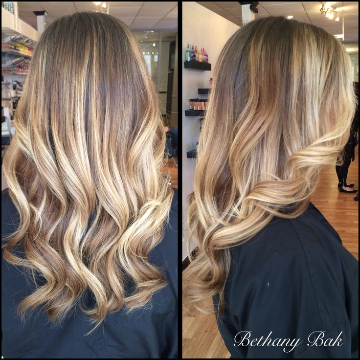 Balayage highlights.
