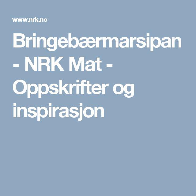 Bringebærmarsipan - NRK Mat - Oppskrifter og inspirasjon