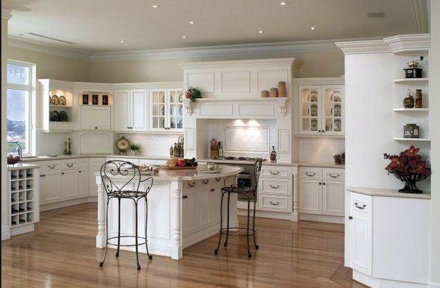 Beyaz Mutfak Dekorasyon Örnekleri