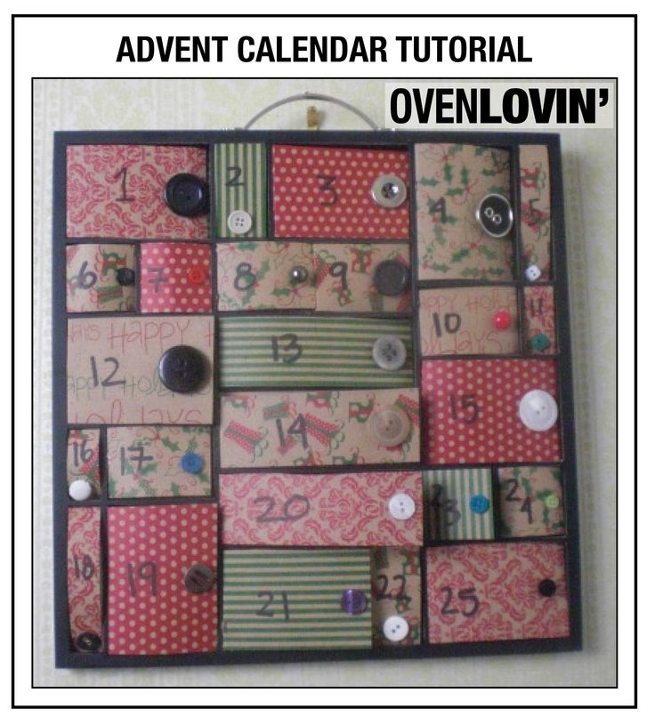 ... Advent Calendar on Pinterest | Christmas trees, Crafts and Advent